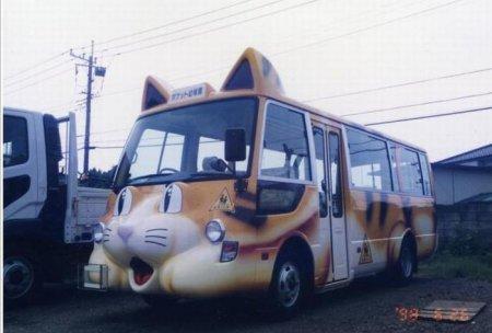 Школьные автобусы Японии