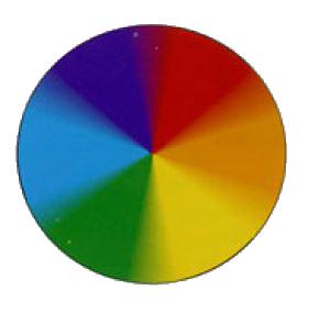 Круг, заполненный цветом