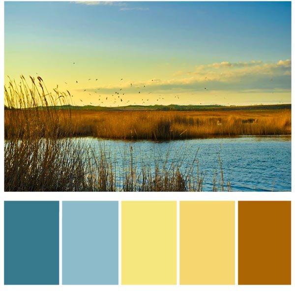 Гармонирующие цвета